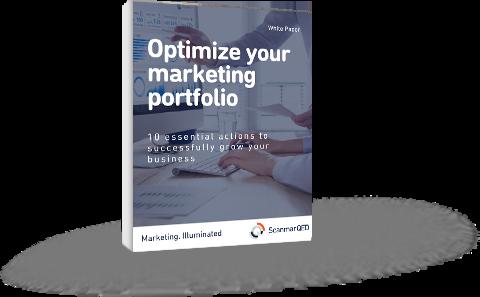 Optimize your marketing portfolio WP Cover